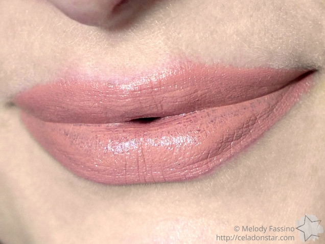 Flight Deck Cosmetics Lipstick in Reserve - Swatch