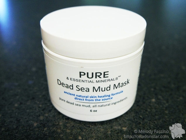 Pure & Essential Minerals Dead Sea Mud Mask - Packaging
